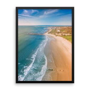 Framed: RI Coastline