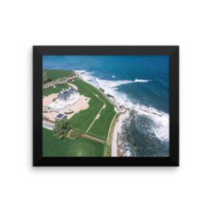 Framed: Newport Cliff Walk